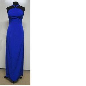 dress, formal, blue